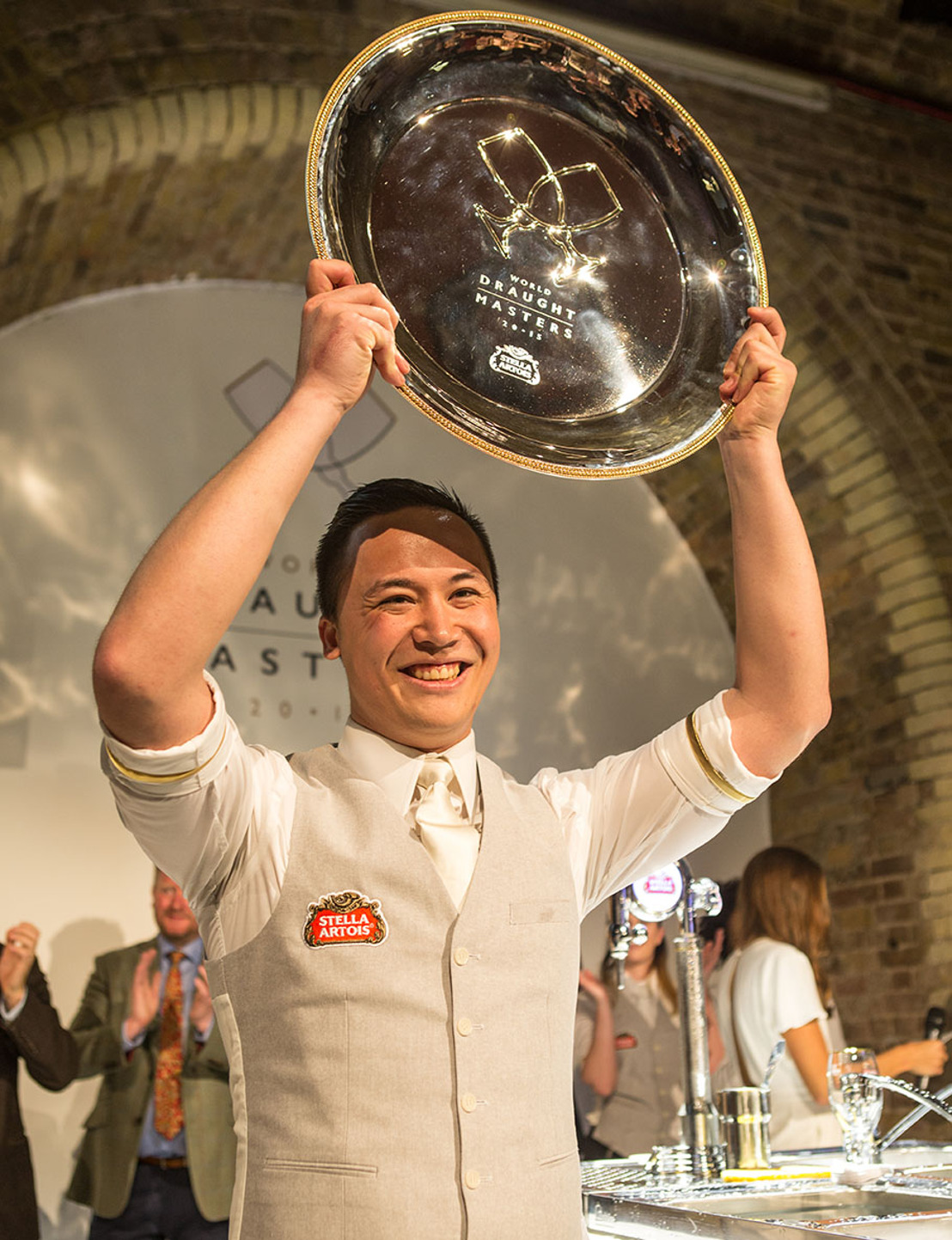La Belgique remporte pour la troisième fois consécutive le titre de Champion du Monde de Serveur de bière