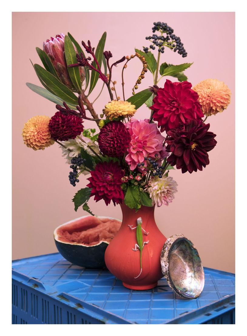 Vaas met bloemen<br/>(c) Athos Burez