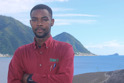 OECS YES In Action features Sharome Burton