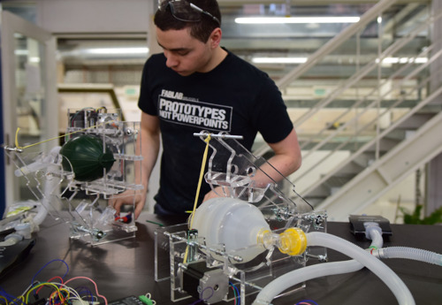 VUB engineers tackle imminent shortage of ventilation equipment
