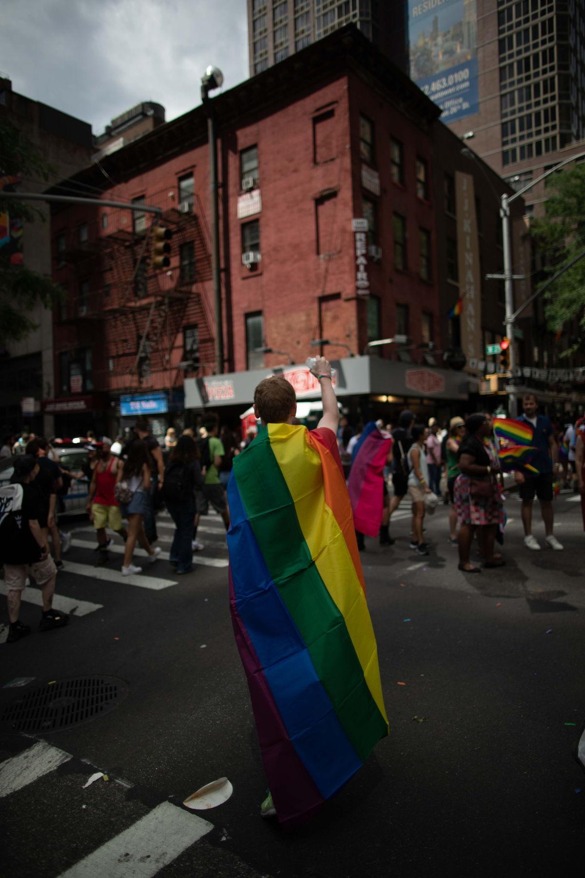 El orgullo se presume en todas las calles de Estados Unidos.