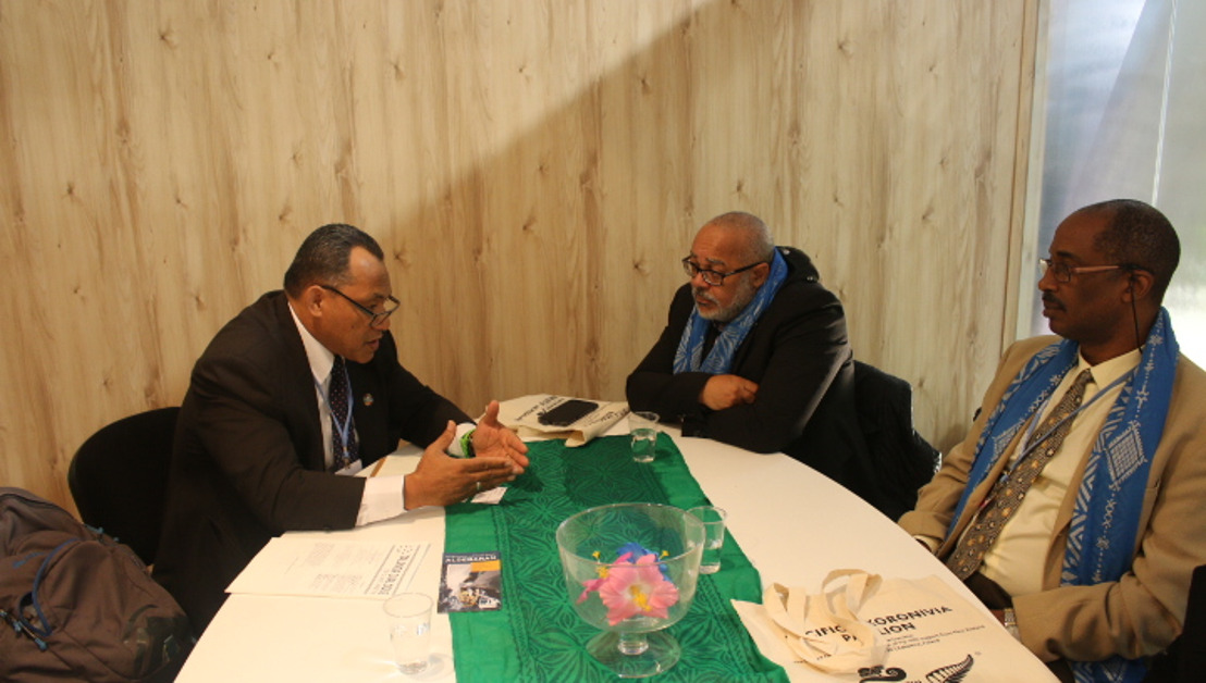 COP24: OECS and Pacific Small Island States Forge Closer Ties To Combat Climate Change