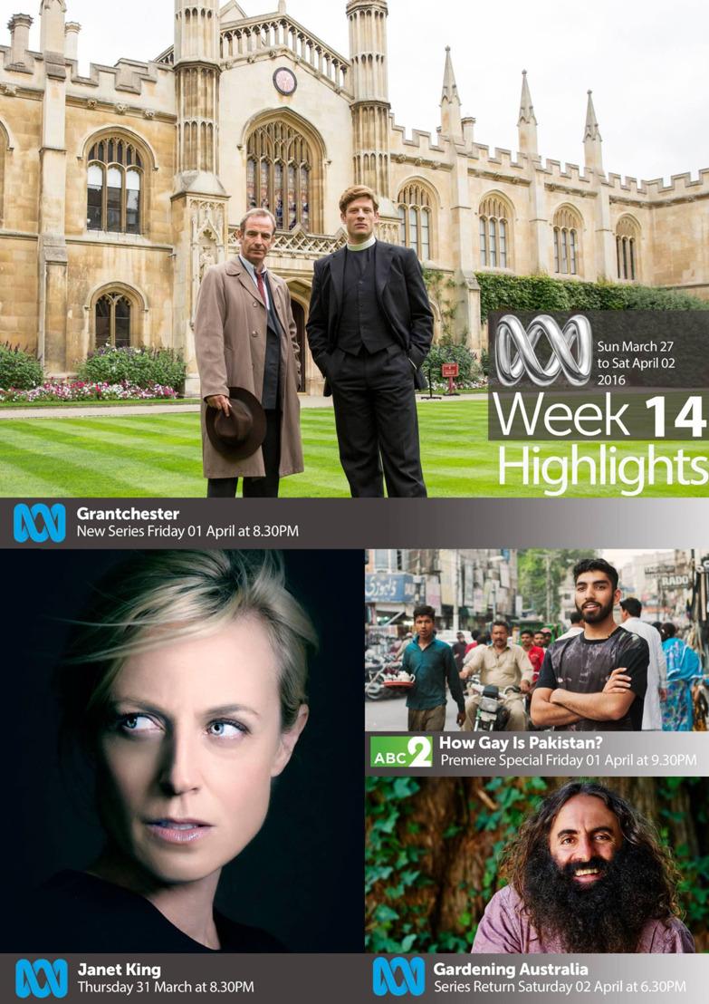 ABC TV Highlights - Week 14