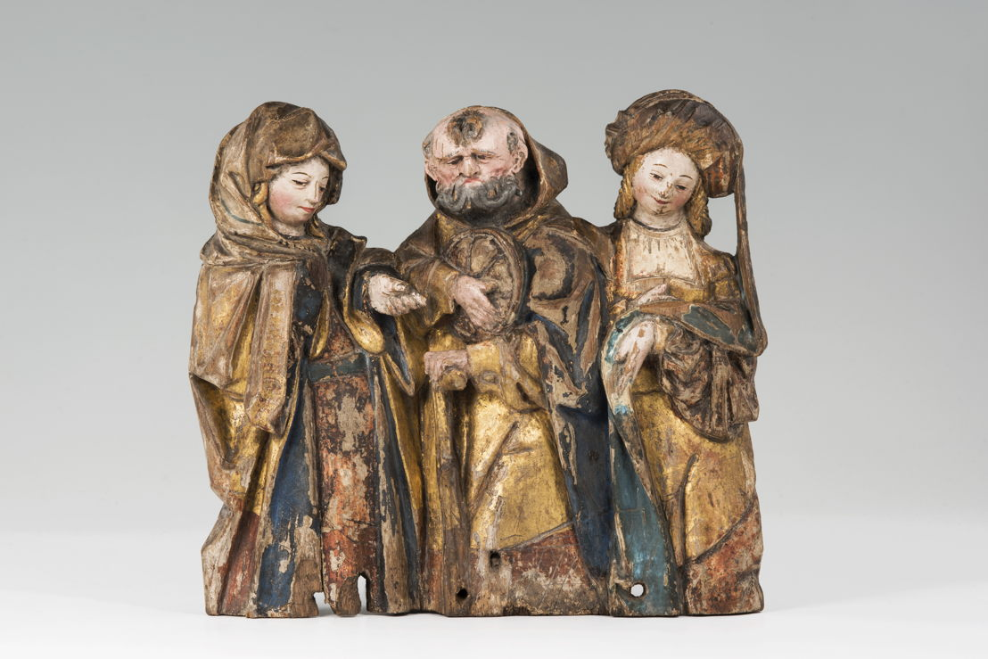 Anvers, Circoncision, c. 1500, chêne, polychromie d'origine<br/>Photo (c) Suermondt-Ludwig-Museum