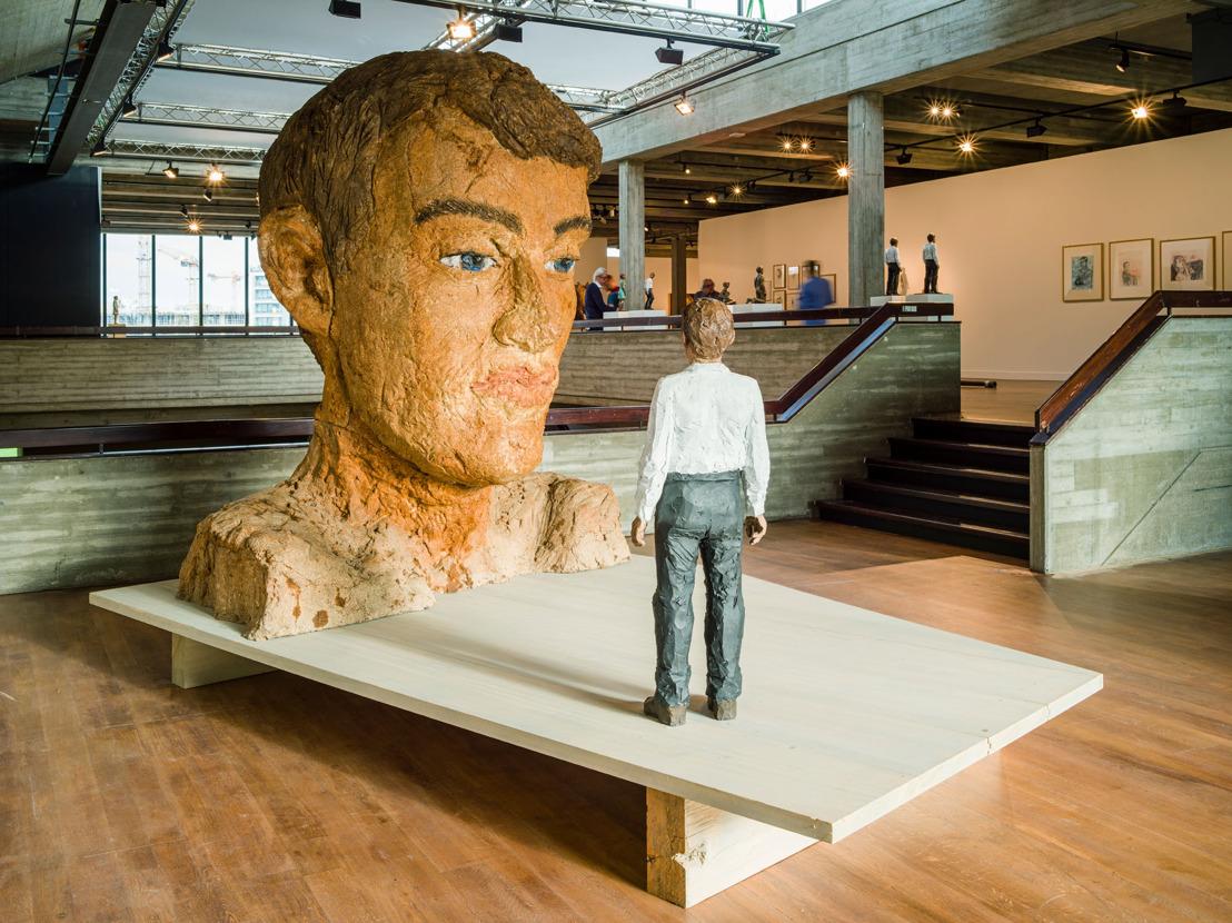 Persbericht: Knokke-Heist brengt voor het eerst houtsculpturen van de Duitse beeldhouwer Stephan Balkenhol uit Belgische privécollecties samen