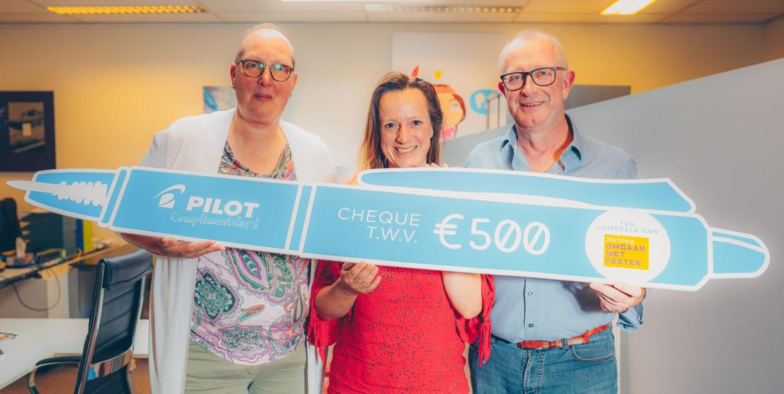 Pilots Complimentendagactie levert 1.000 euro op voor goede doelen