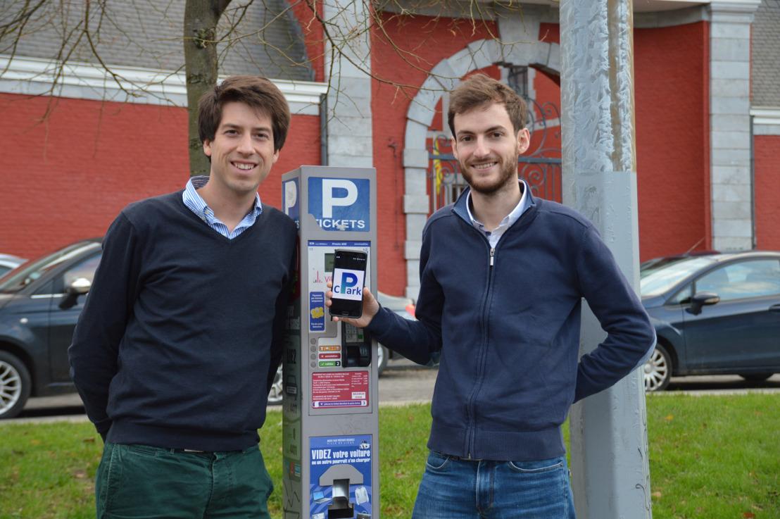 cPark, de app om parkeerboetes te vermijden, nu ook beschikbaar in Gent, Leuven, Luik en Charleroi