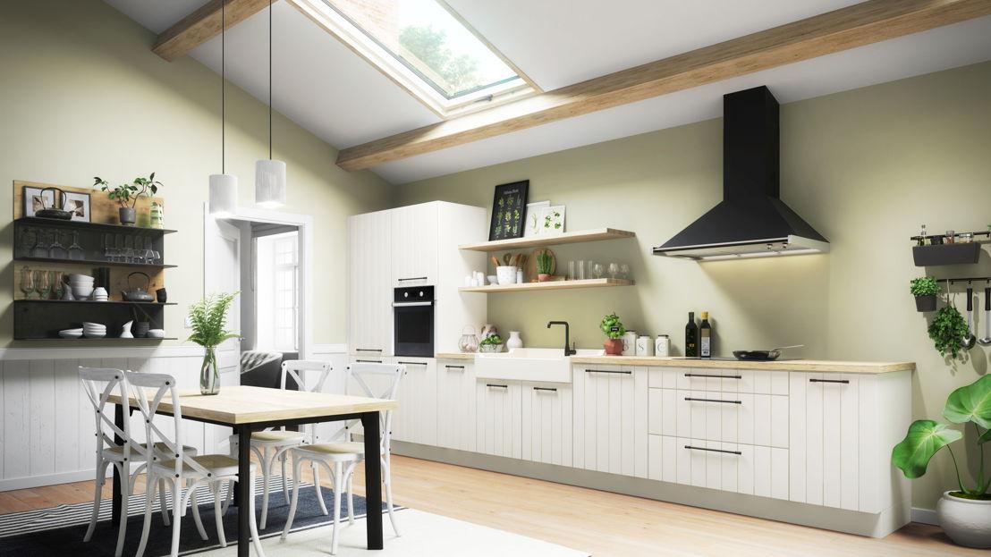 cuisine &quot;gain de place&quot; /<br/>plaatswinst keuken Flair 921 ©èggo