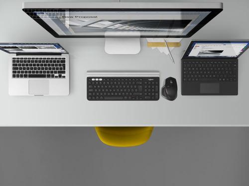 Dos computadoras son mejores que una con el software Flow de Logitech®