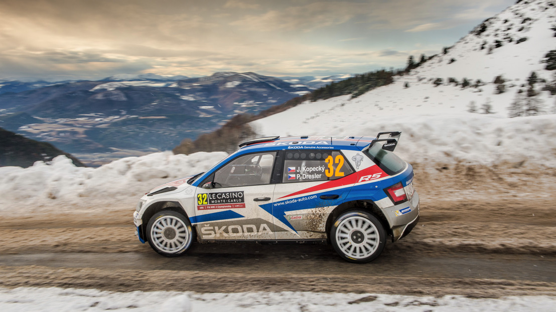 ŠKODA enters FABIA R5 and legendary ŠKODA 130 RS into GP Ice Race at Zell am See