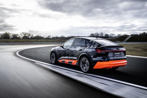 Dynamique, agile et électrique : Audi présente le concept de propulsion des modèles e-tron S