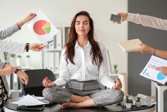 Restez zen au travail