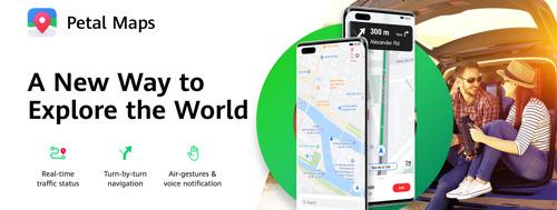 Huawei lance Petal Maps, Petal Search et HUAWEI Docs