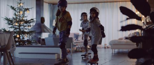 IKEA en DDB bouwen living om tot skatepark
