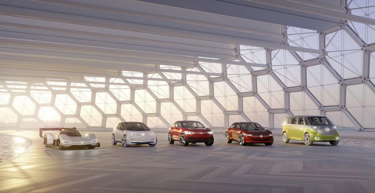 Con la familia ID., Volkswagen está entrando a una nueva era automotriz.