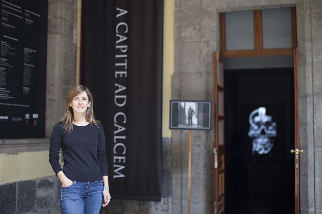 Nuria Galland, coordinadora de Servicios Pedagógicos y Contenidos Académicos del Palacio de la Escuela de Medicina