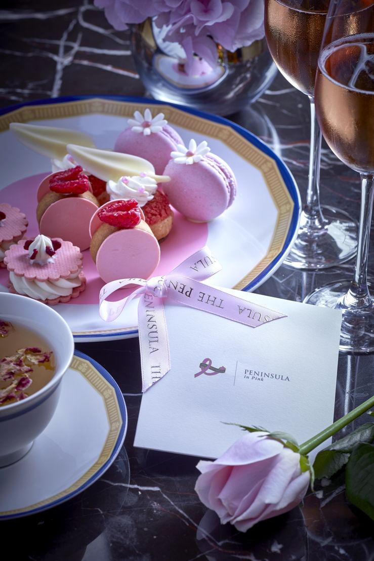 Pink Peninsula Afternoon Tea