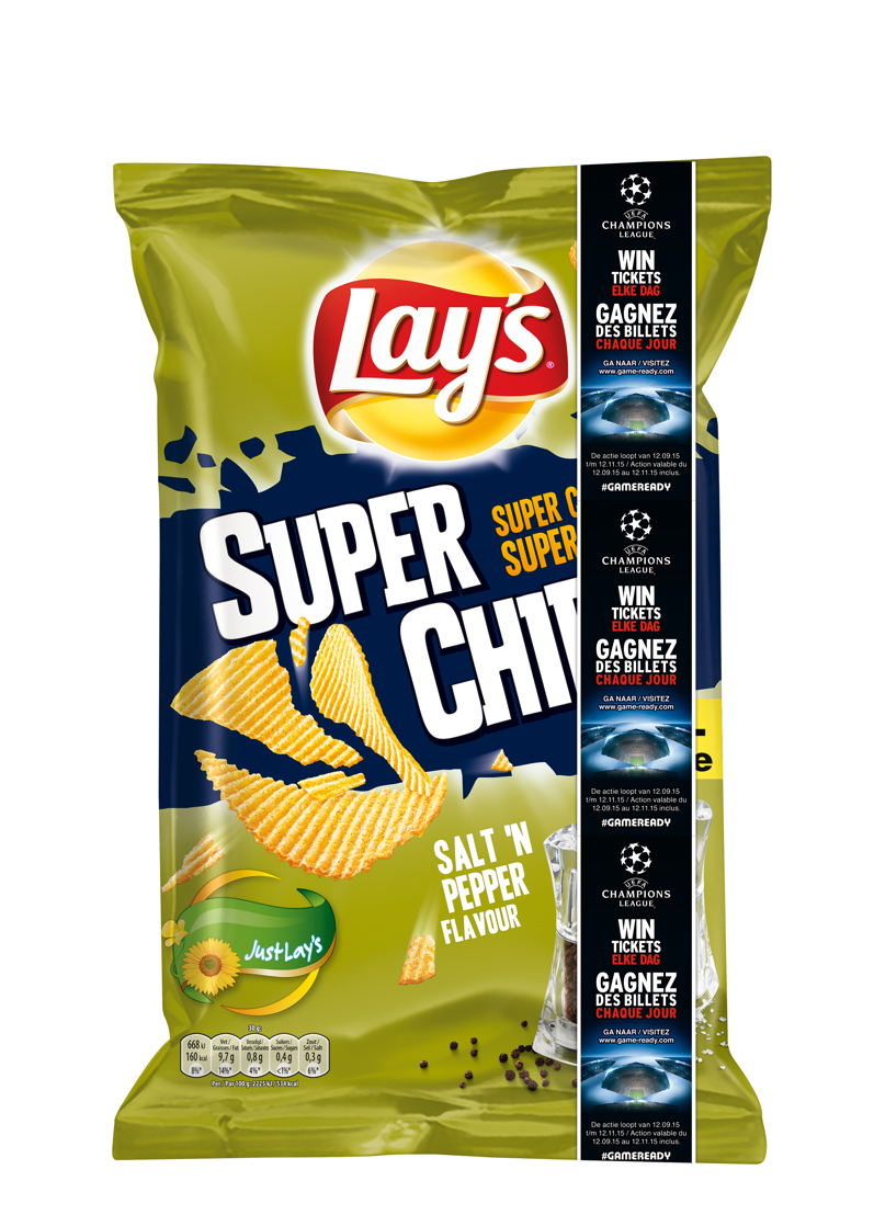 #GAMEREADY Banner Lay's Superchips Salt & Pepper Visual