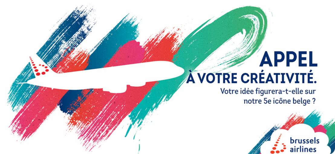 Brussels Airlines invite tous les Belges à participer à la création de son 5ème Belgian Icon