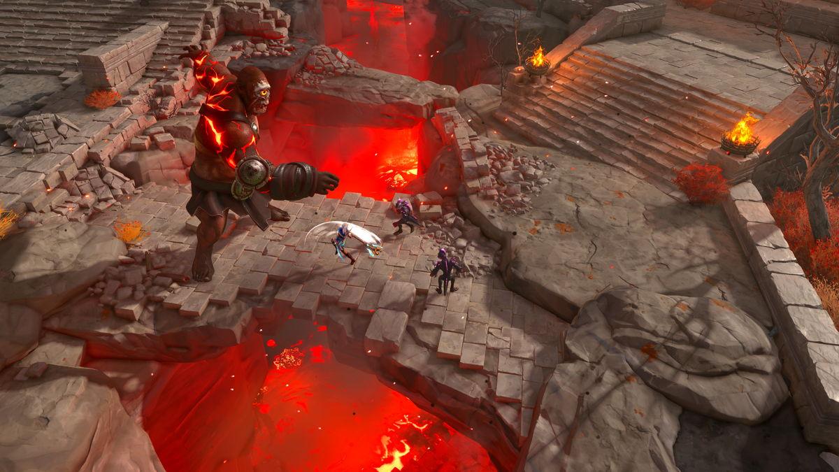 """Ein weiterer Neuer Held, Ash sowie Top-Down-Gameplay erhalten mit """"Die verlorenen Götter"""" Einzug in Immortals Fenyx Rising."""