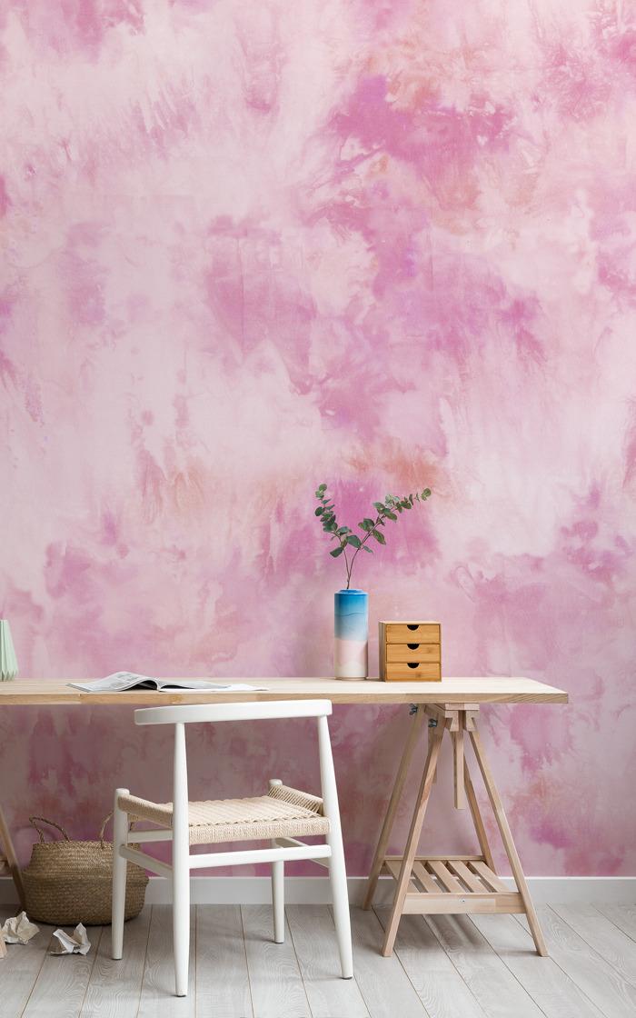 Este verano el tie dye conquista el papel pintado