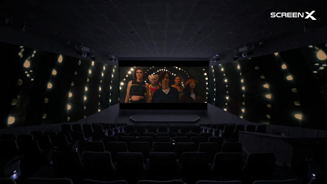 Une première en Belgique ! Kinepolis ouvre la première salle ScreenX
