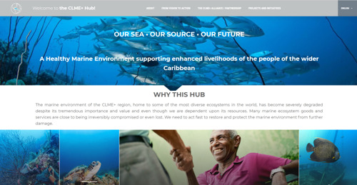 "Central ""CLME+"" Web Portal launched on World Ocean Day"