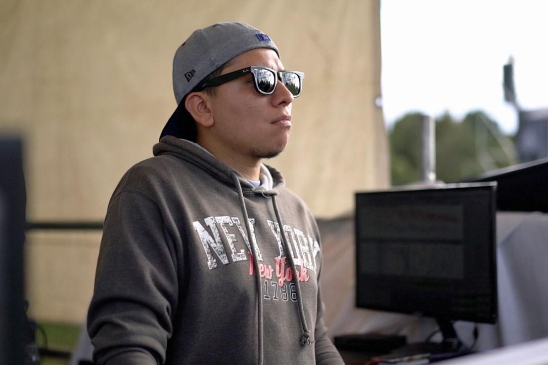 Hernando Puentes, ingeniero de sonido de la banda Hipoxia