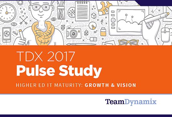 LinkedIn sharing - TDX Pulse Study cover image