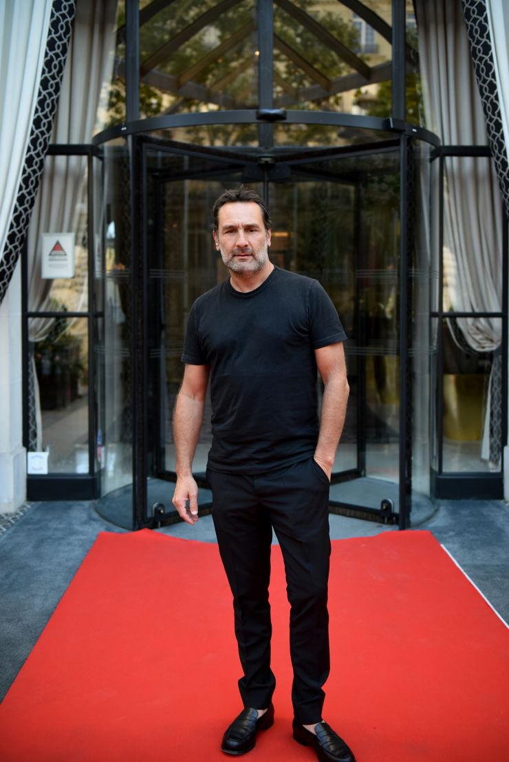 Gilles Lellouche, Actor. FOTO: Cortesía de Say Who para The Peninsula Paris.