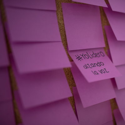 Post-It Wall #SheLeads