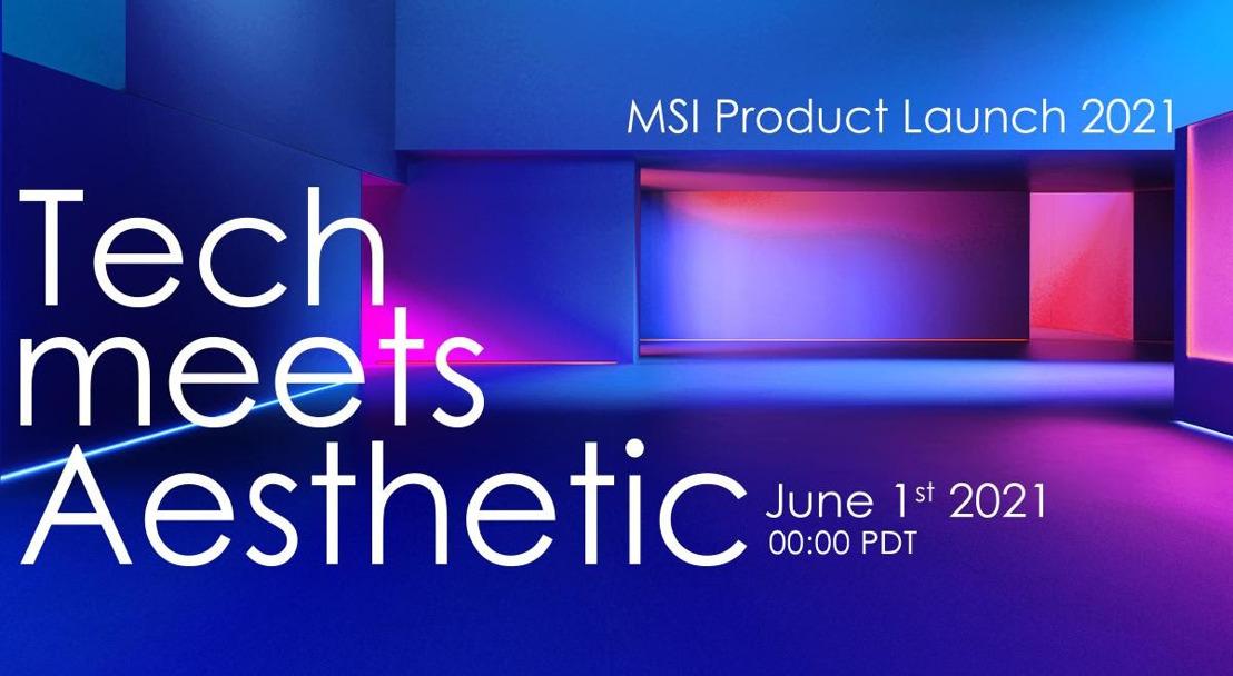 Technik trifft Ästhetik: MSI stellt das neue Produktportfolio auf der Computex 2021 vor