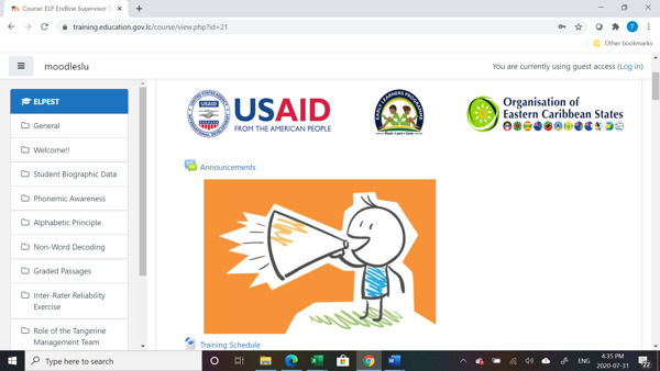 Preview: Technology at the Forefront of Training to Assess OECS Early Grade Reading Levels