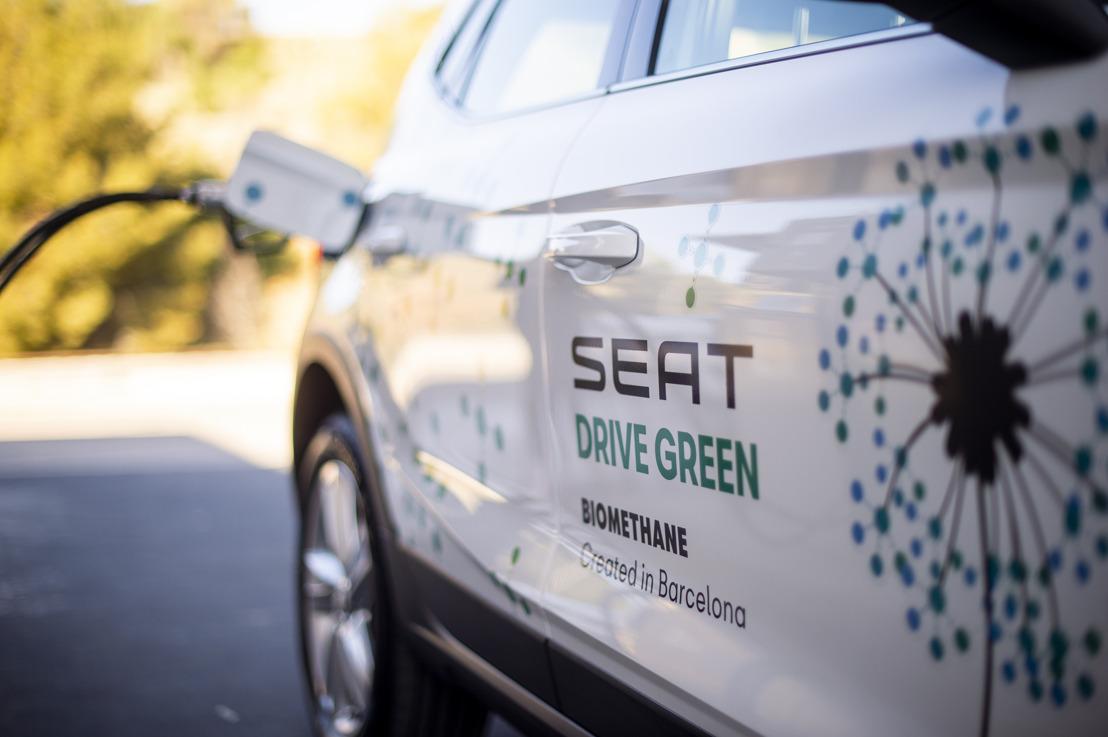 SEAT neemt deel aan een nieuw Europees project om biomethaan uit afval te winnen