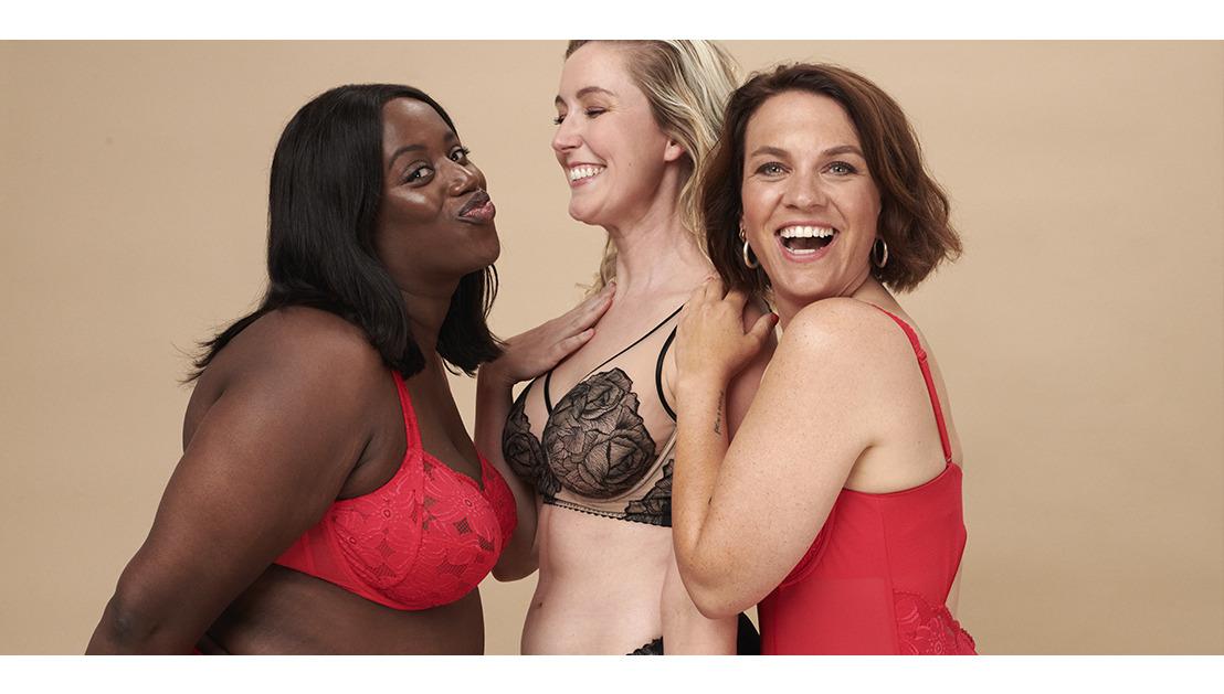 PrimaDonna und Siska Schoeters haben 5 Frauen zu einem Fotoshooting in Dessous eingeladen