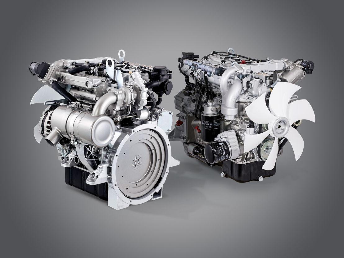 Industriemotoren der neuesten Generation: die Hatz H-Serie Drei- und Vierzylinderdiesel