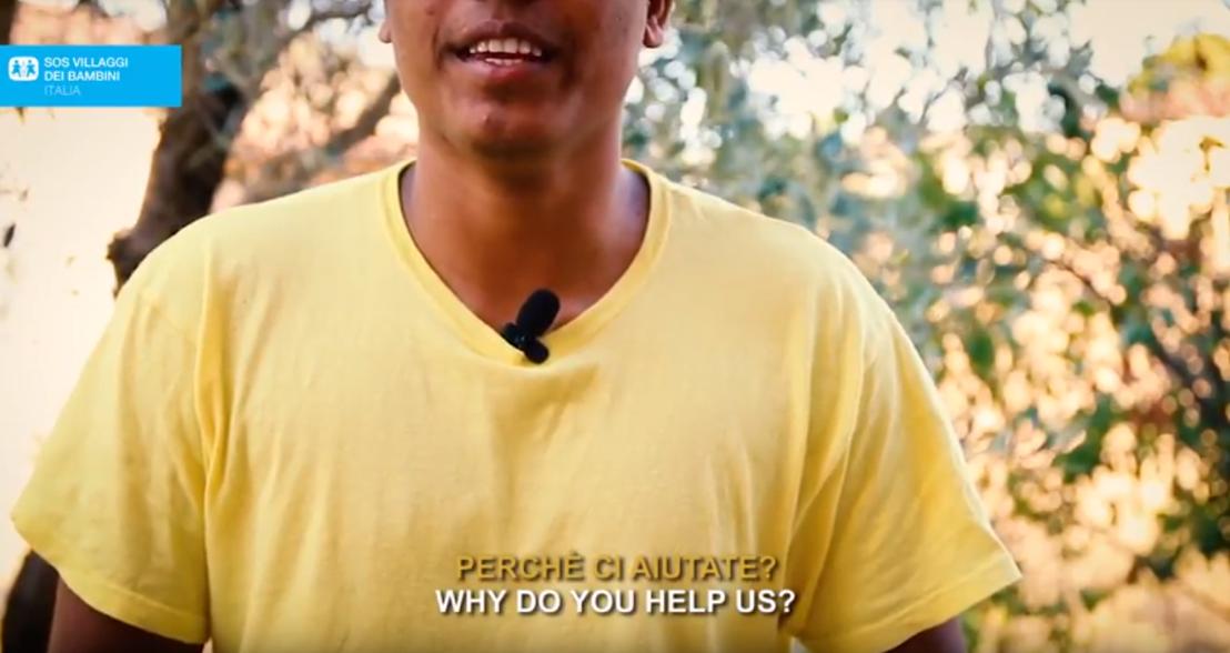 """SOS VILLAGGI DEI BAMBINI: È ONLINE IL VIDEO PROGETTO """"PERCHÉ CI AIUTATE?"""" DOMANDE E RISPOSTE TRA RAGAZZI ITALIANI E MSNA PER CONOSCERSI E AZZERARE LE DISTANZE"""