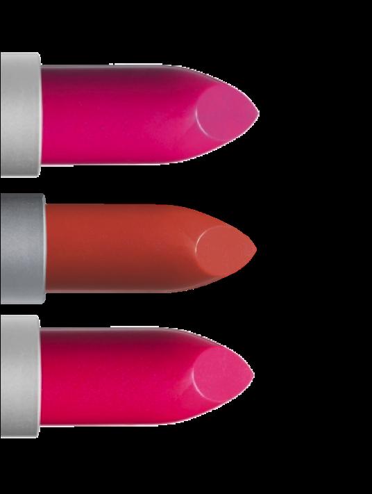 Transparante lippenstift (Essentiel, Suédine, Candeur) - €18