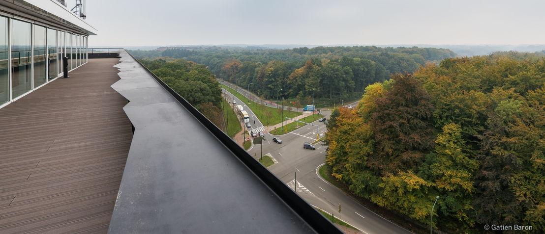 Een prachtig zicht vanop het terras