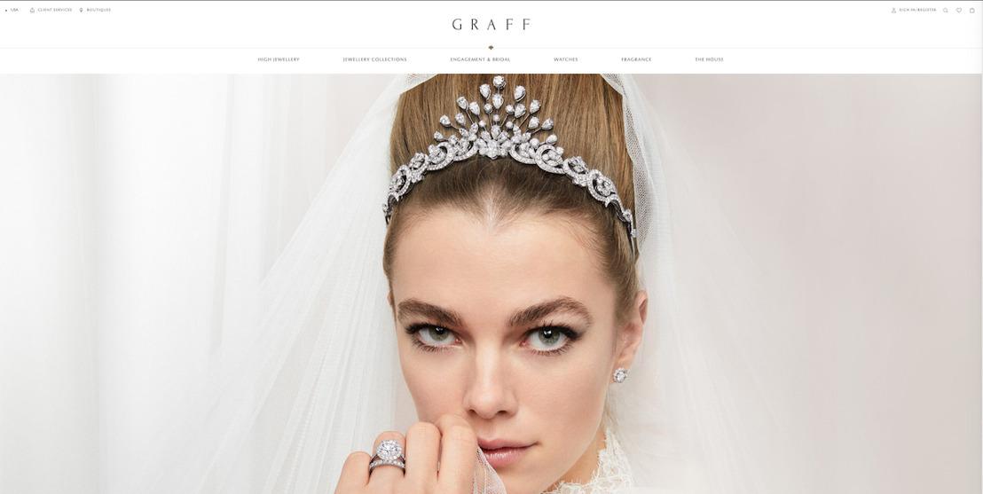 Nieuwe Graff-website door Emakina betovert liefhebbers van exclusieve juwelen