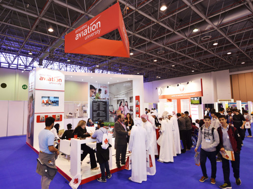 Emirates Aviation University participates in Sharjah's International Education Show