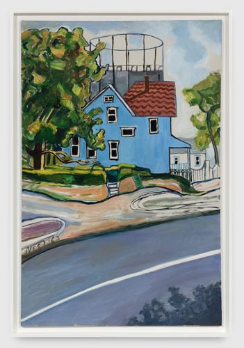 Xavier Hufkens presenteert een solotentoonstelling van Alice Neel met familieportretten, landschappen en stillevens die ze maakte in Spring Lake en Vermont