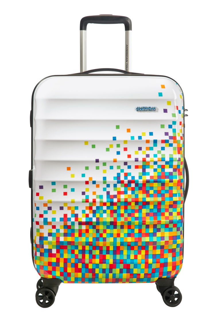 American Tourister - Palm Valley - Pixel white