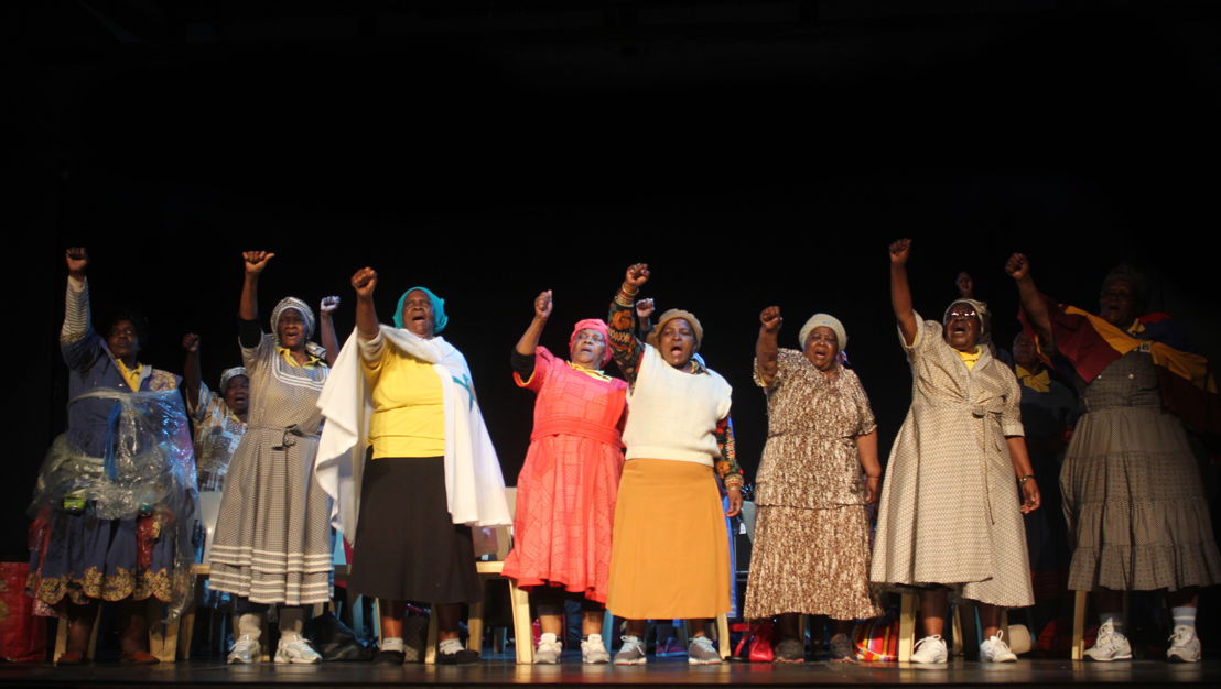 A scene from Gug'Othandayo The Musical