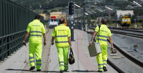 ADIF awards Thales the maintenance of the traffic control facilities of the Madrid-Seville and Cordoba-Malaga high speed lines
