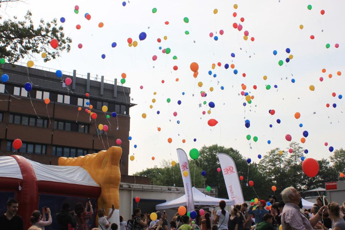 400 kinderen op eerste editie 'Feest van het Kind' in het Universitair Kinderziekenhuis Koningin Fabiola