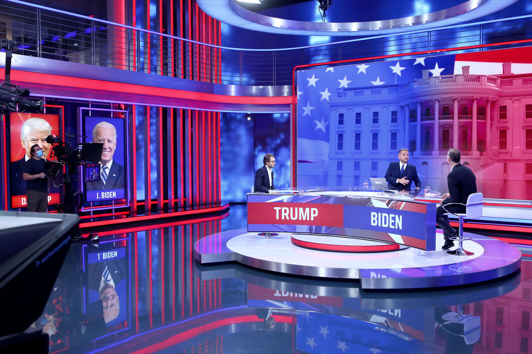 Sennheiser Digital 6000 i det mest moderne TV-studie I Tjekkiet