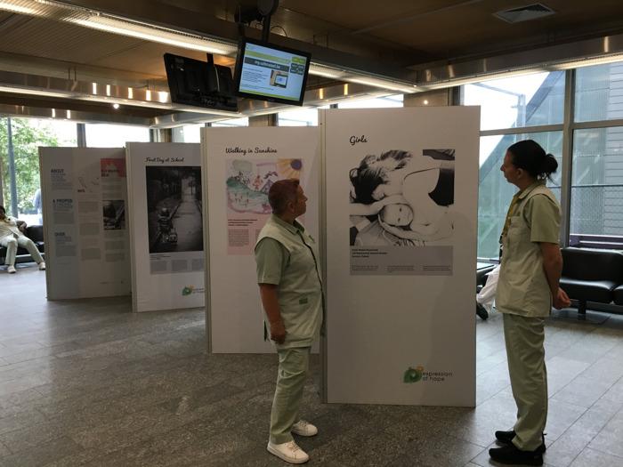 'Expression of Hope' à l'UZ Brussel: 25 œuvres d'art faites par des personnes atteintes d'une maladie lysosomale