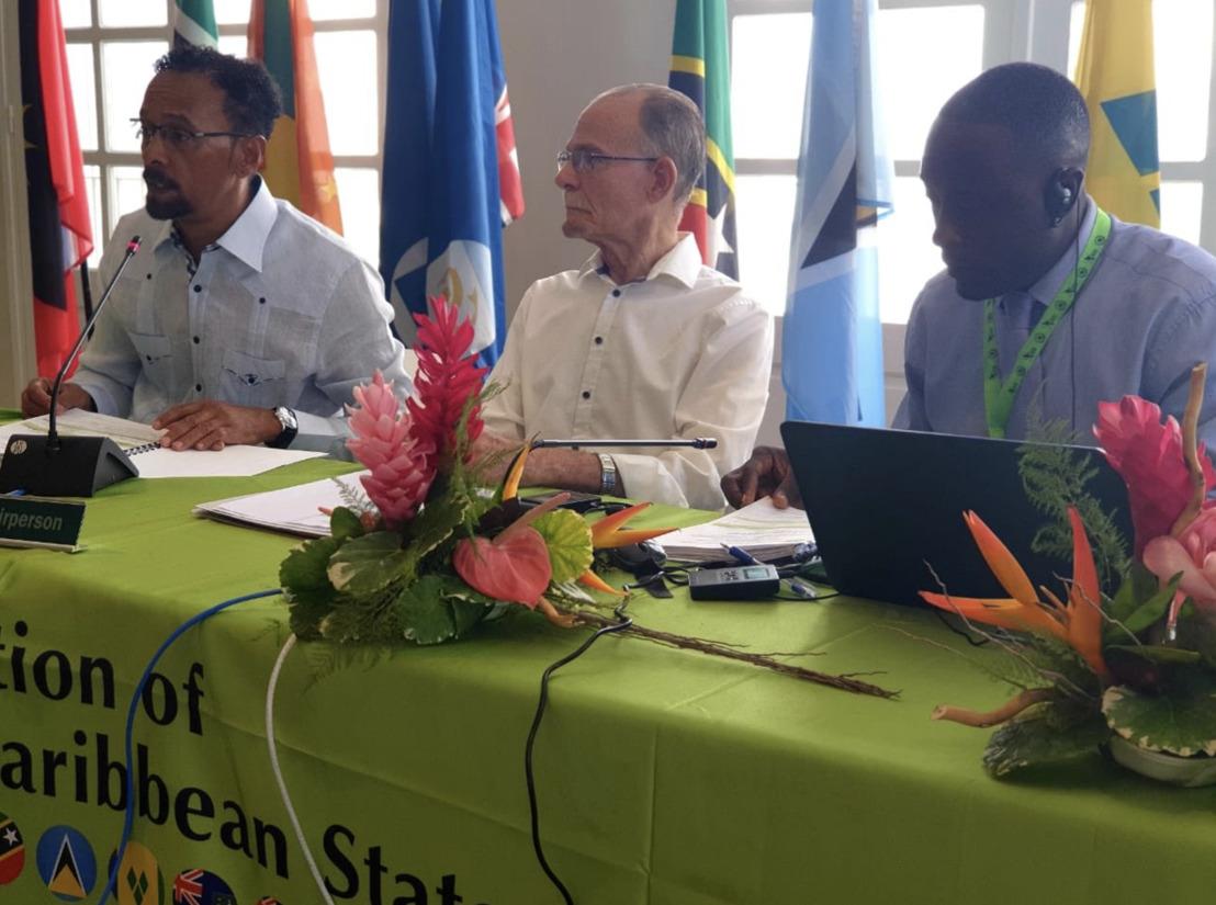 Les Ministres de l'Environnement de l'OECS réunis au Musée du Père Pinchon