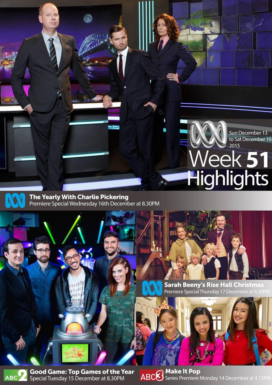 ABC TV Highlights - Week 51